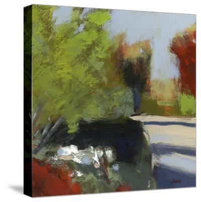 Take a Turn-Lou Wall-Stretched Canvas Print