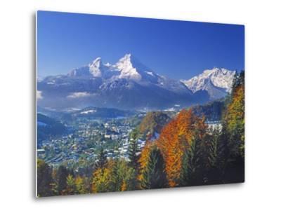 Berchtesgaden and Mount Watzmann-Walter Geiersperger-Metal Print