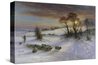 The Evening Glow-Joseph Farquharson-Stretched Canvas Print