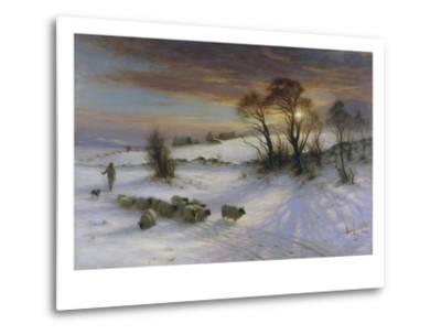 The Evening Glow-Joseph Farquharson-Metal Print
