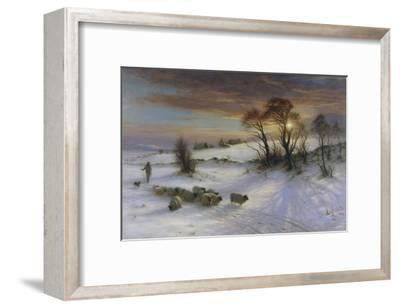 The Evening Glow-Joseph Farquharson-Framed Giclee Print