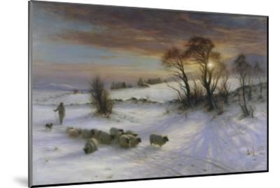 The Evening Glow-Joseph Farquharson-Mounted Giclee Print