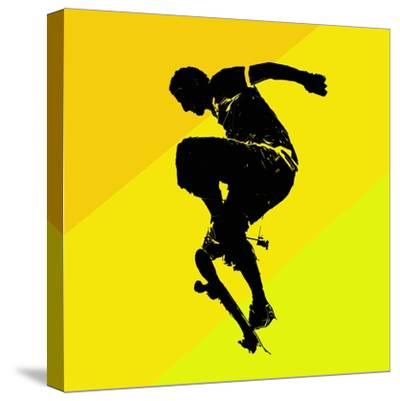 Skate Trick--Stretched Canvas Print