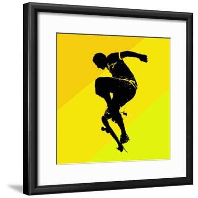 Skate Trick--Framed Giclee Print