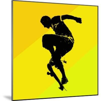 Skate Trick--Mounted Giclee Print