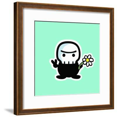 Peace Out-Debbie Huey-Framed Giclee Print