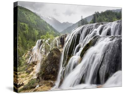 Waterfalls-Frank Lukasseck-Stretched Canvas Print
