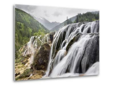 Waterfalls-Frank Lukasseck-Metal Print