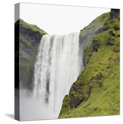 Waterfall-Neil C^ Robinson-Stretched Canvas Print