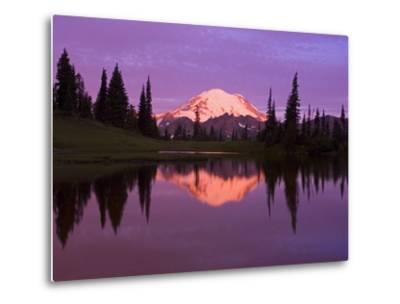 Mount Rainier and Tipsoo Lake-Craig Tuttle-Metal Print