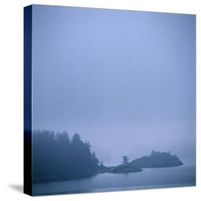 Coastal Islands in Fog-Micha Pawlitzki-Stretched Canvas Print