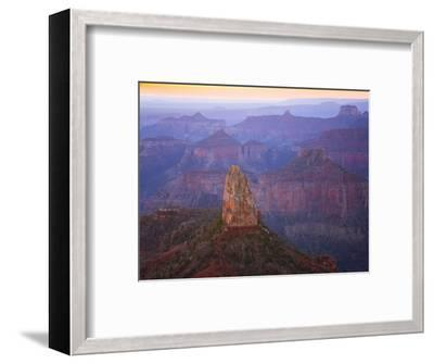 Sandstone Buttes and Cliffs at Grand Canyon National Park-John Eastcott & Yva Momatiuk-Framed Premium Photographic Print