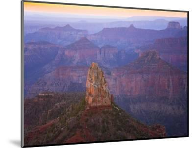 Sandstone Buttes and Cliffs at Grand Canyon National Park-John Eastcott & Yva Momatiuk-Mounted Premium Photographic Print