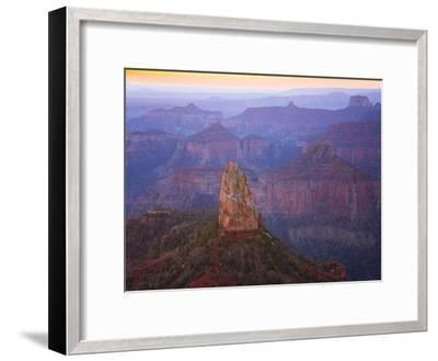 Sandstone Buttes and Cliffs at Grand Canyon National Park-John Eastcott & Yva Momatiuk-Framed Premium Photographic Print