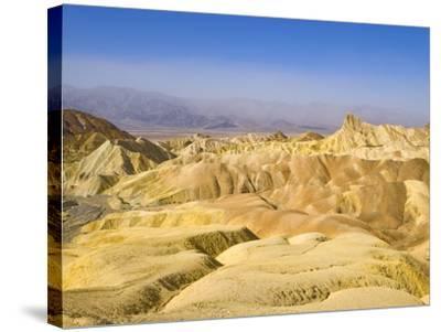 Manly Beacon Peak and Badlands-John Eastcott & Yva Momatiuk-Stretched Canvas Print