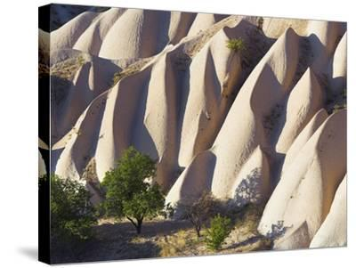 Rock Formations in Goreme Valley-Frank Lukasseck-Stretched Canvas Print
