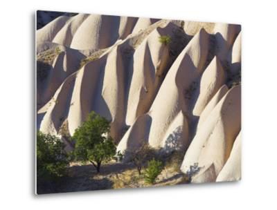 Rock Formations in Goreme Valley-Frank Lukasseck-Metal Print