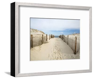 Quiet Beach-Stephen Mallon-Framed Premium Photographic Print