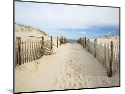 Quiet Beach-Stephen Mallon-Mounted Premium Photographic Print