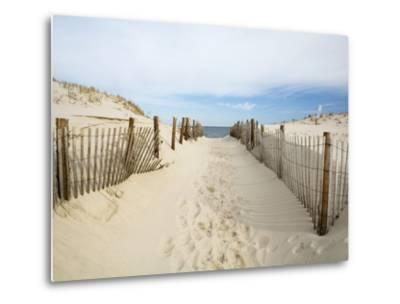 Quiet Beach-Stephen Mallon-Metal Print