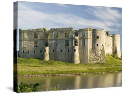 Carew Castle--Stretched Canvas Print