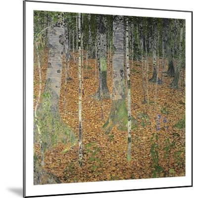 The Birch Wood, 1903-Gustav Klimt-Mounted Giclee Print