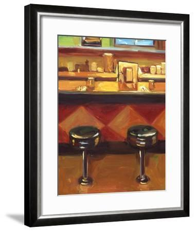 Bar Stools-Pam Ingalls-Framed Giclee Print