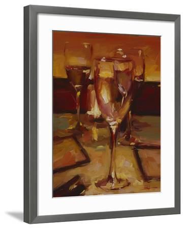 Wine Glasses, Paris-Pam Ingalls-Framed Giclee Print