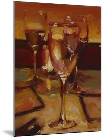 Wine Glasses, Paris-Pam Ingalls-Mounted Giclee Print