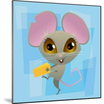 Anime Mouse-Harry Briggs-Mounted Giclee Print