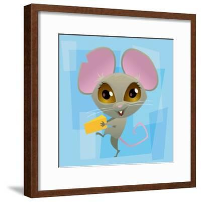 Anime Mouse-Harry Briggs-Framed Giclee Print