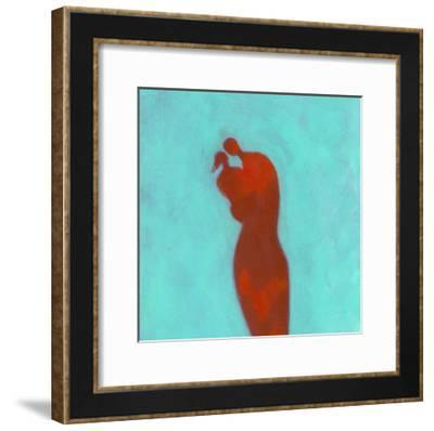 Couple Embracing-Marie Bertrand-Framed Giclee Print