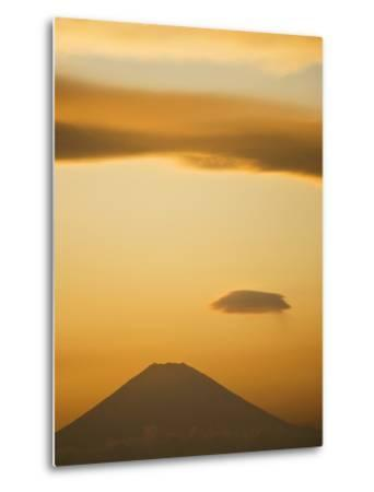 Mt. Fuji from Arasaki Point--Metal Print