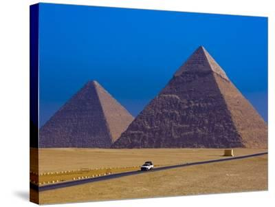Great Pyramids of Giza-Blaine Harrington-Stretched Canvas Print