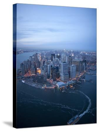 South Ferry, Manhattan-Cameron Davidson-Stretched Canvas Print