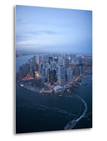 South Ferry, Manhattan-Cameron Davidson-Metal Print