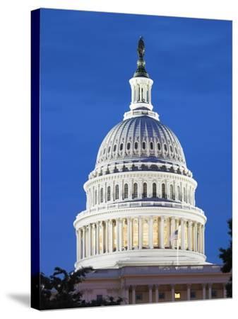 U.S. Capitol dome-Raimund Koch-Stretched Canvas Print