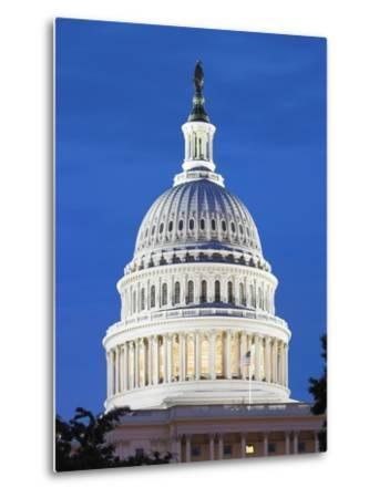 U.S. Capitol dome-Raimund Koch-Metal Print
