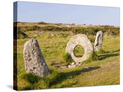 Men an Tol stone-Ashley Cooper-Stretched Canvas Print