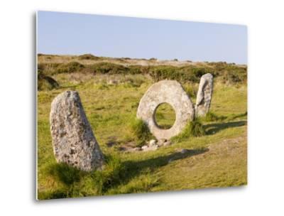 Men an Tol stone-Ashley Cooper-Metal Print