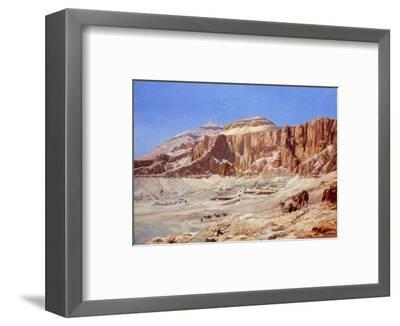 Egypt, the Valley of the Kings-Walter Prell-Framed Premium Giclee Print