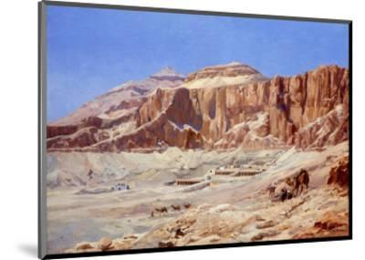 Egypt, the Valley of the Kings-Walter Prell-Mounted Premium Giclee Print