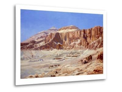 Egypt, the Valley of the Kings-Walter Prell-Metal Print