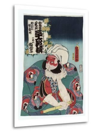 Kobayashi no Asahina-Utagawa Toyokuni-Metal Print