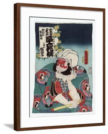 Kobayashi no Asahina-Utagawa Toyokuni-Framed Giclee Print