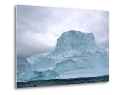 Iceberg, Witless Bay Ecological Reserve, Newfoundland, Canada-Barrett & Mackay-Metal Print