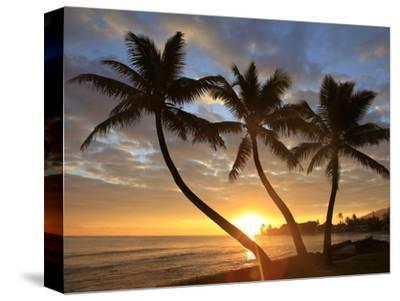 Sunrise, Windward Oahu, Hawaii-Douglas Peebles-Stretched Canvas Print