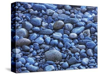 Pebble beach at Garrapata State Park-Frank Krahmer-Stretched Canvas Print
