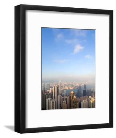China cityscape-Sung-Il Kim-Framed Premium Photographic Print