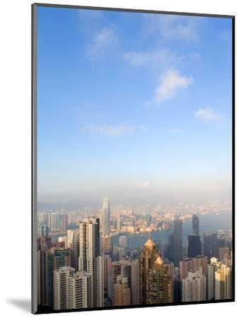 China cityscape-Sung-Il Kim-Mounted Premium Photographic Print